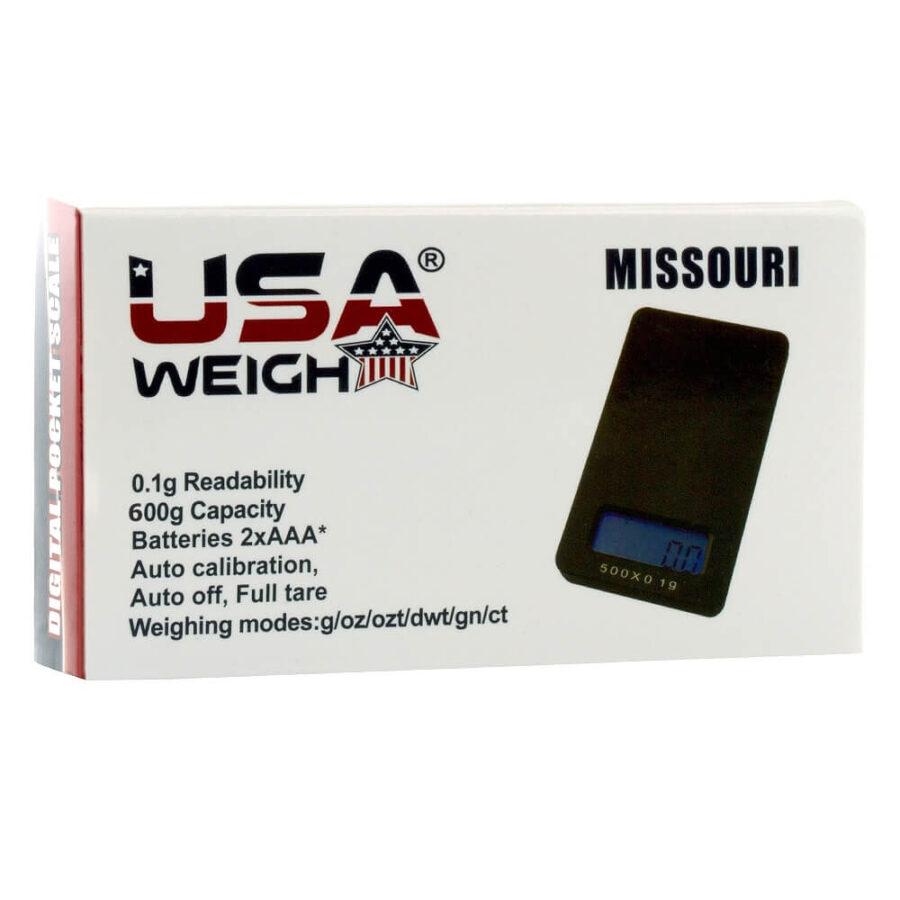 USA Weight Digital Scale Missouri 0.1g - 600g