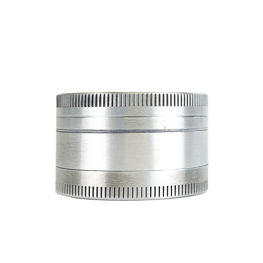 Metal Grinder Silver Leaf Amsterdam 3 Parts – 40mm (12pcs/display)