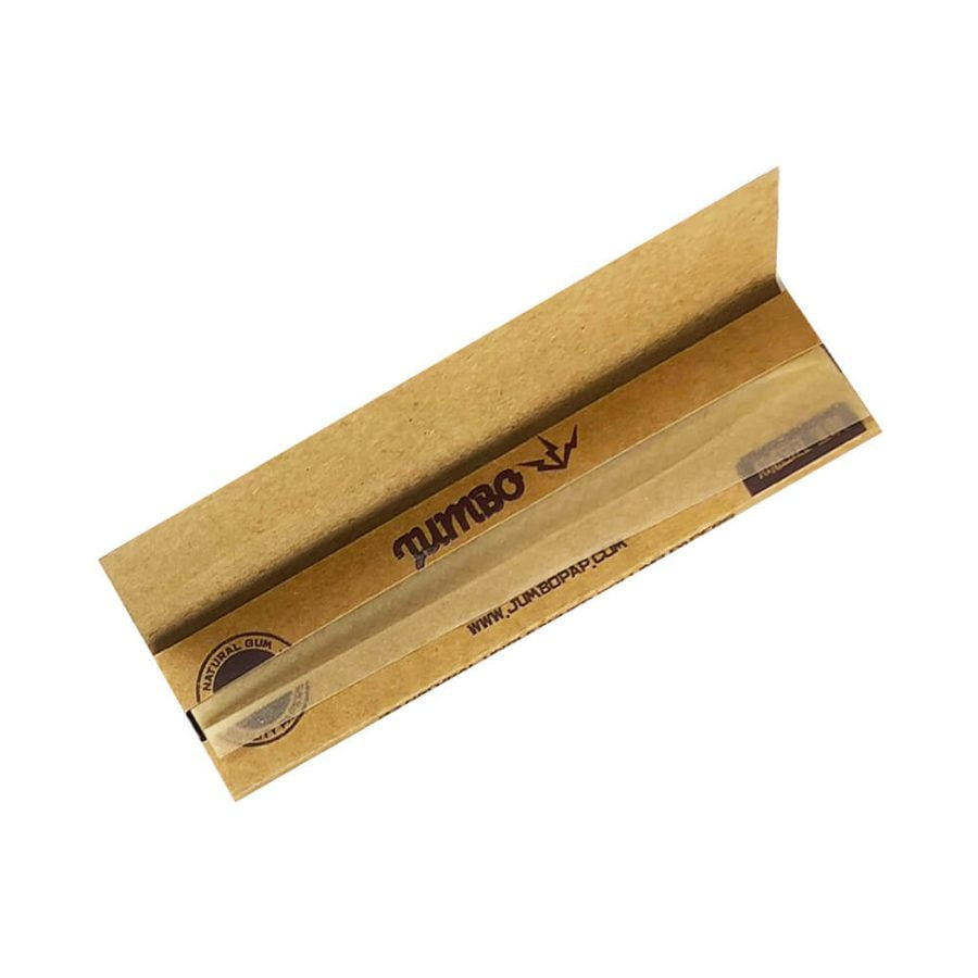 Jumbo King Size Unbleached Rolling Papers (50pcs/display)
