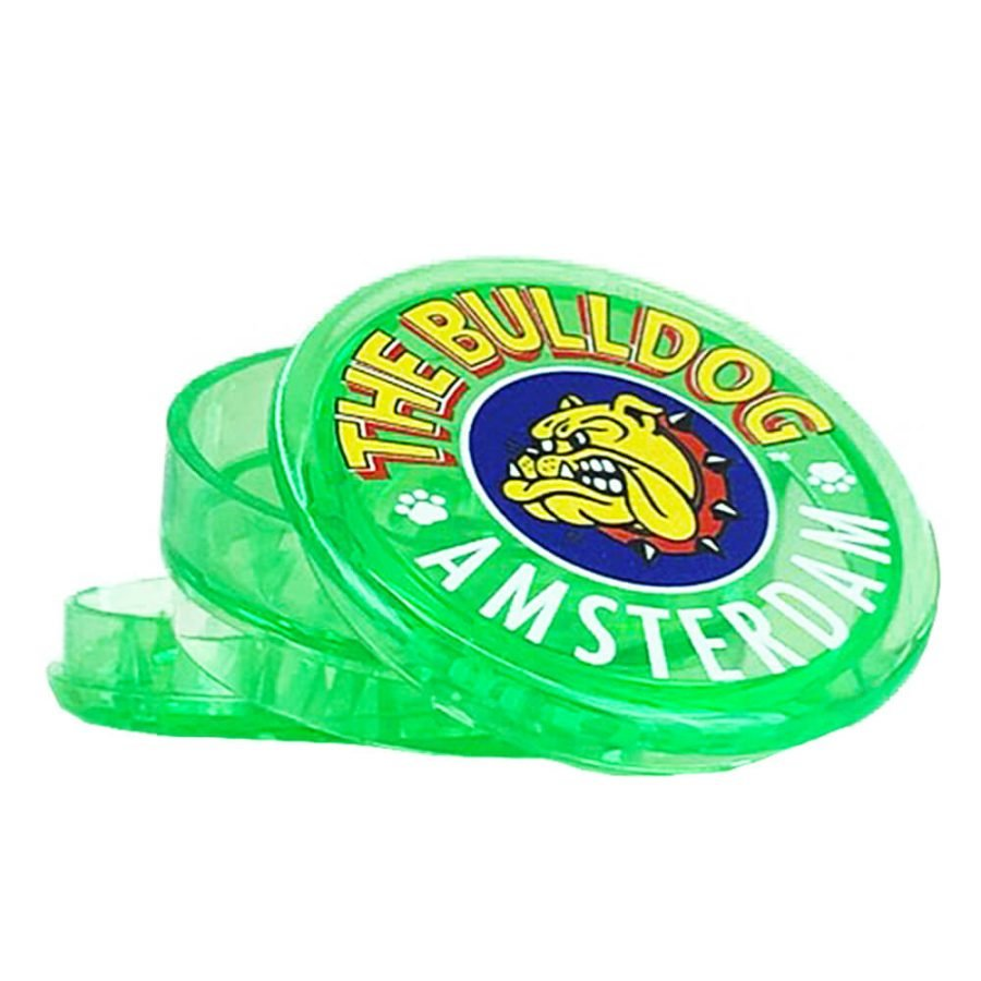 The Bulldog Green Plastic Grinder 3 Parts – 50mm (12pcs/display)