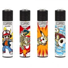 Clipper Lighters Ataque (24pcs/display)