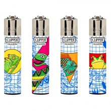 Clipper Lighters Drawing Animals (24pcs/display)