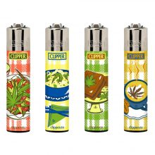 Clipper Lighters Food Leaves (24pcs/display)