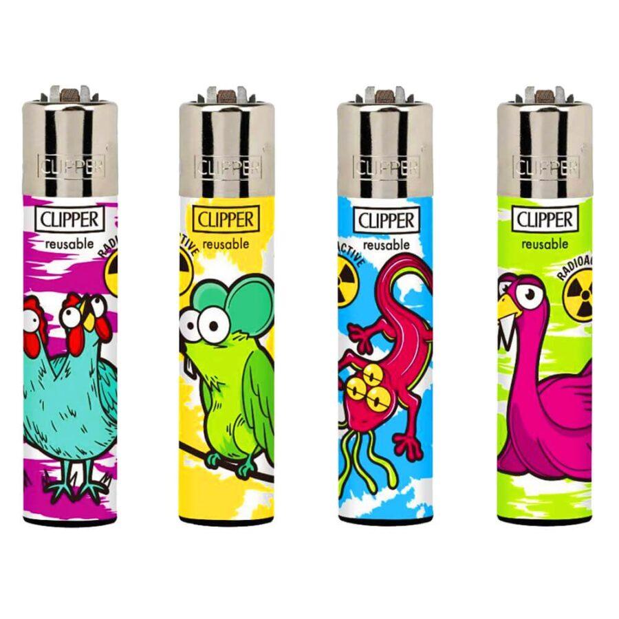 Clipper Lighters Mutant Animals (24pcs/display)
