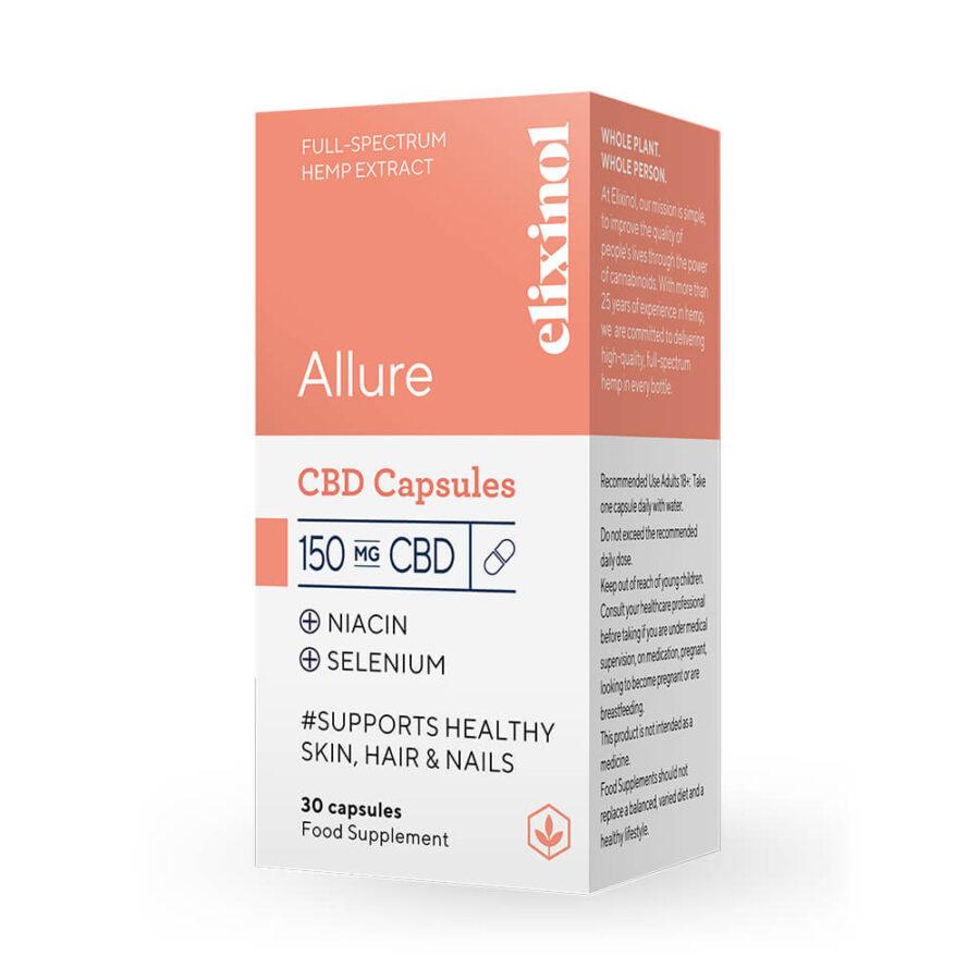Elixinol Allure CBD Capsules 150mg (30 capsules)