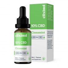 Elixinol Cinnamint CBD Oil 10% (10ml)