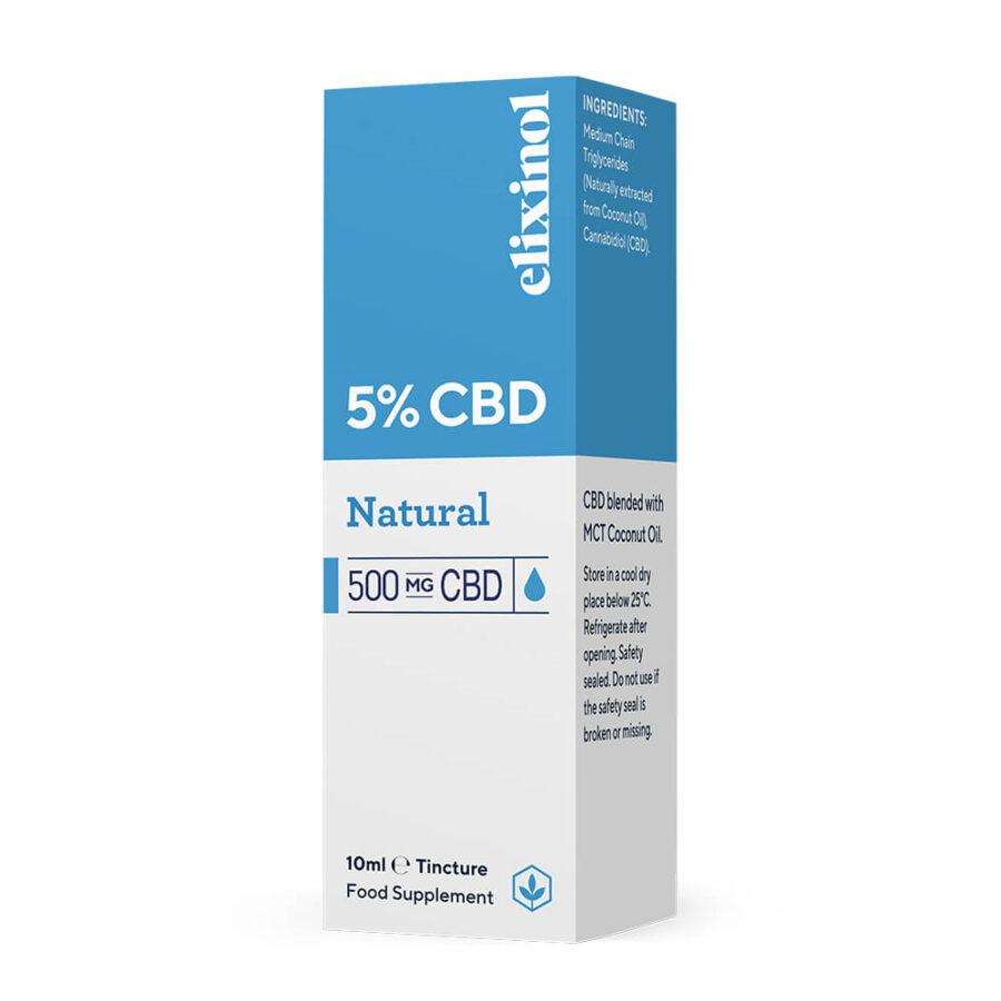 Elixinol Natural CBD Oil 5% (10ml)