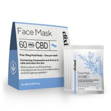 Elixinol Face Mask 60mg CBD (4x8ml)