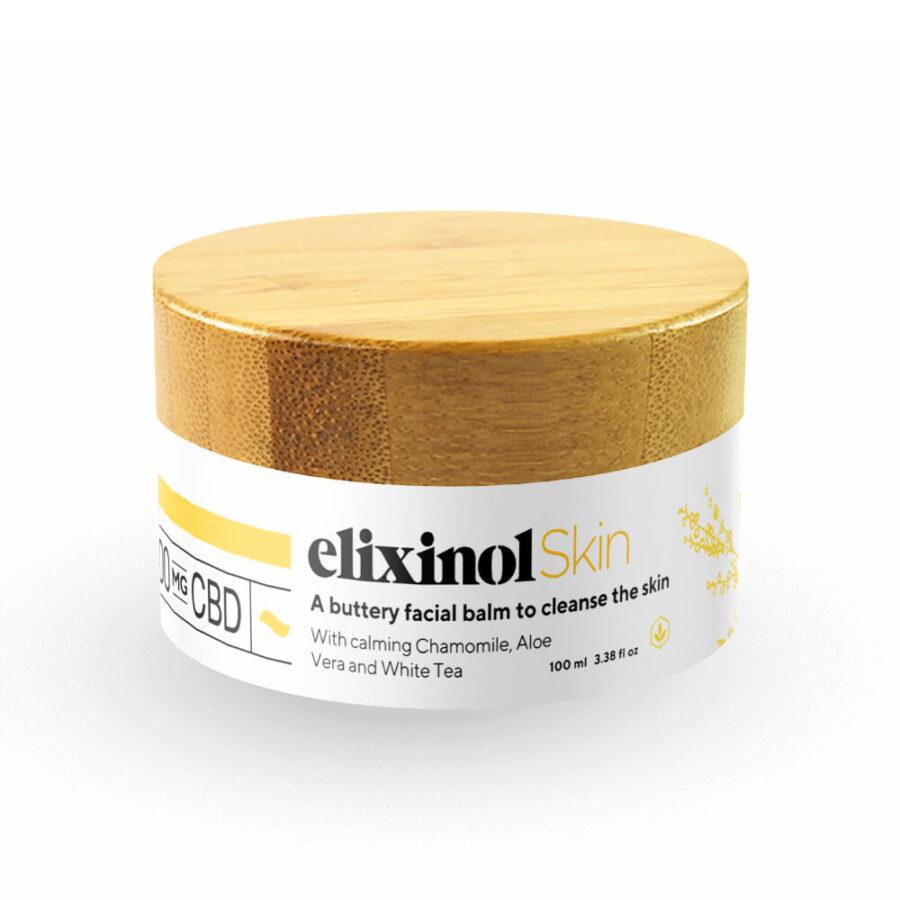 Elixinol CBD Cleansing Balm 100mg (100ml)