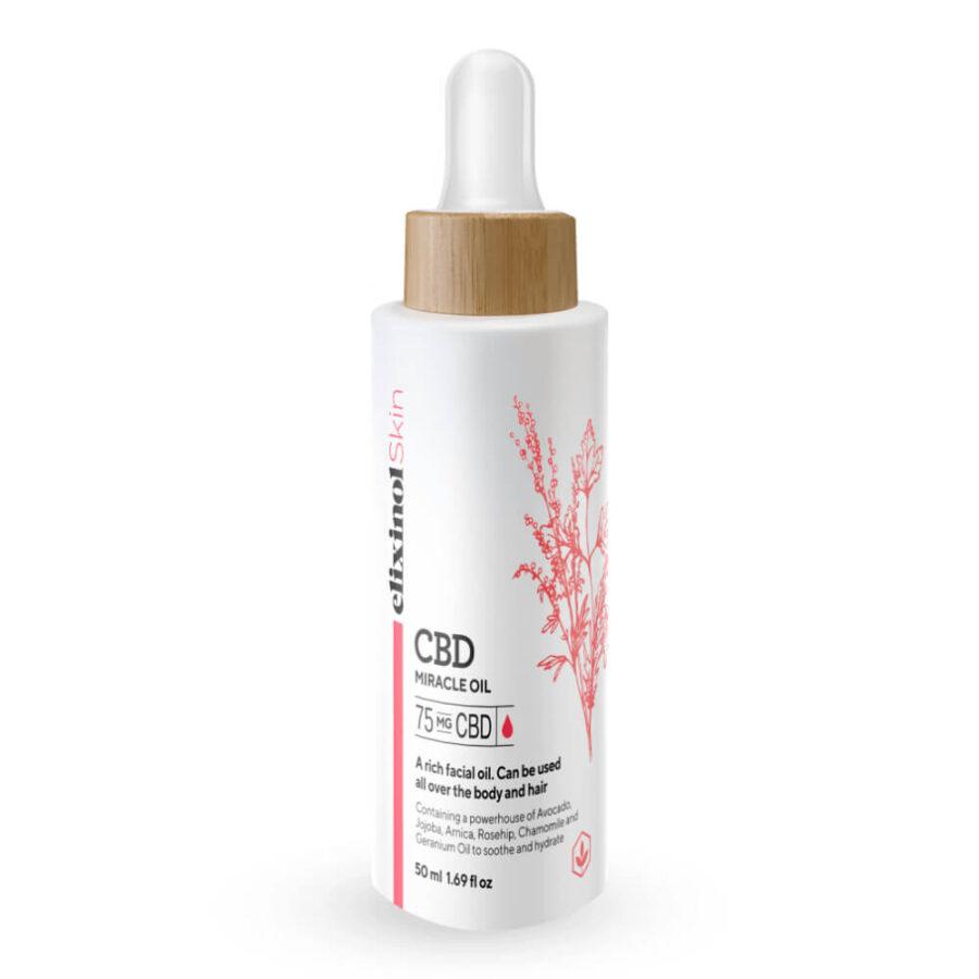 Elixinol Miracle Oil 75mg CBD (50ml)