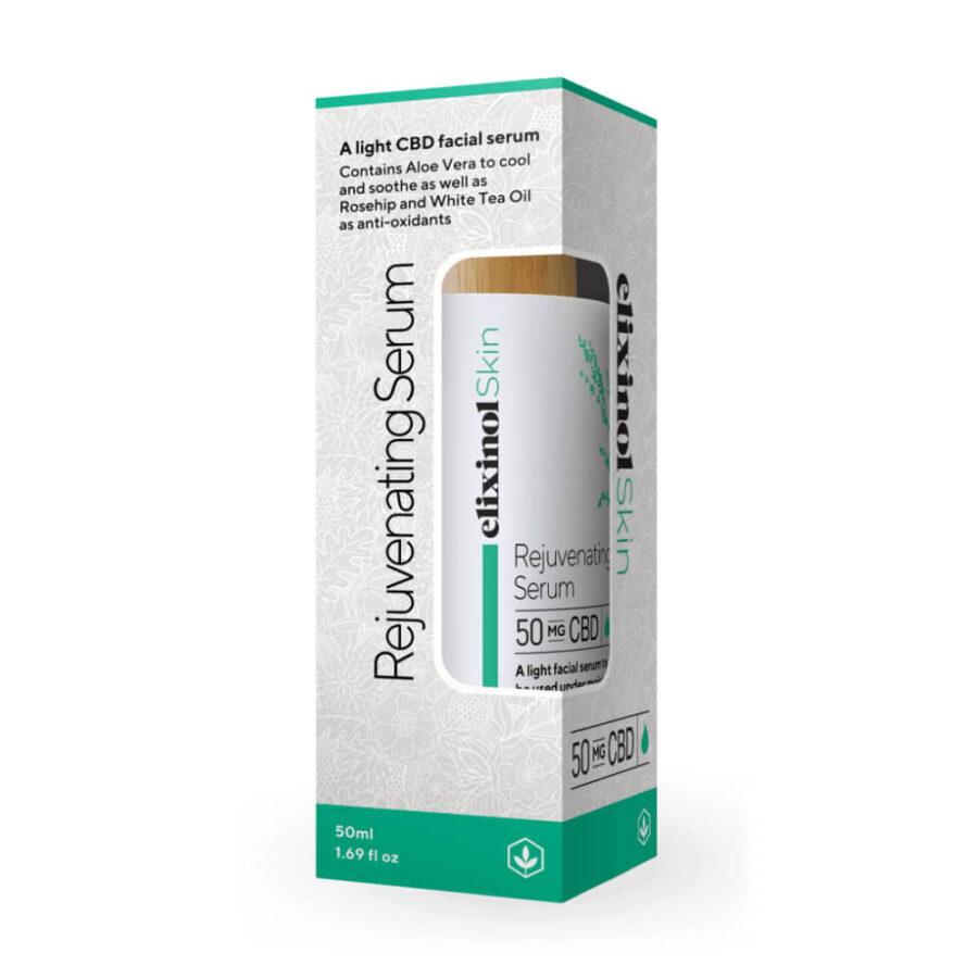 Elixinol Rejuvenating Serum Oil 50mg CBD (50ml)