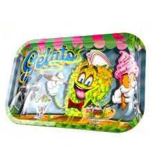 Gelato Metal Rolling Tray Medium