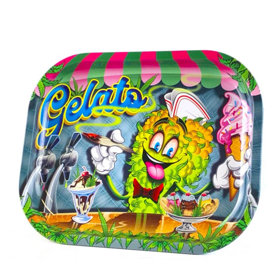 Gelato Metal Rolling Tray Small