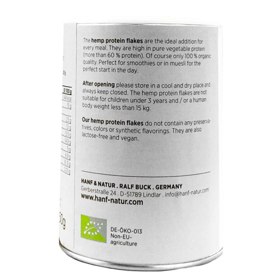 Hanf Natur Bio Hemp Protein Flakes (150g)