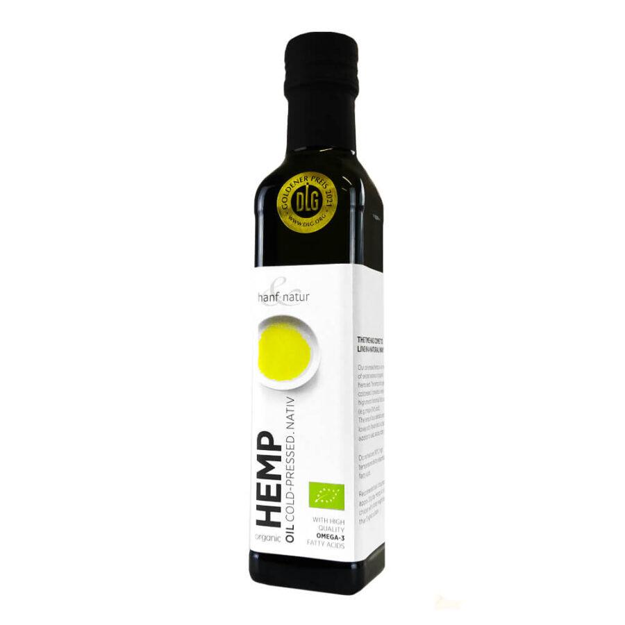 Hanf Natur Hemp Cold Pressed Olive Oil (250ml)