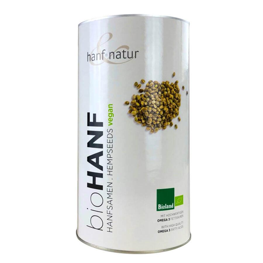 Hanf Natur Bio Hemp Seeds with Omega 3 (1kg)