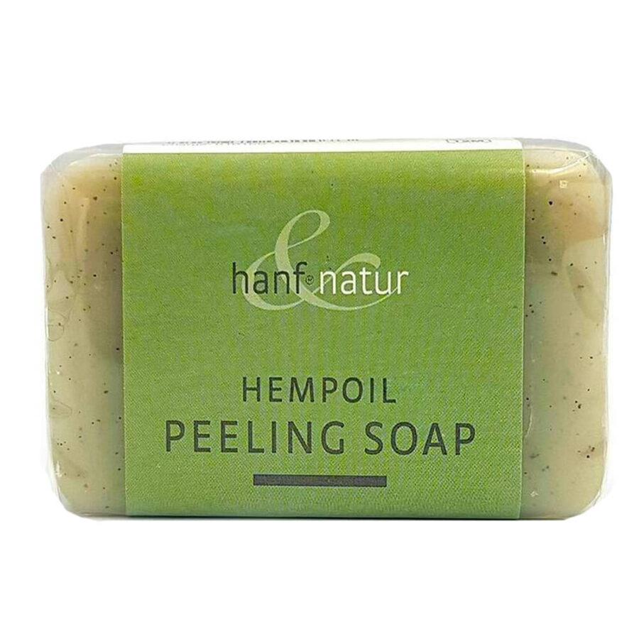 Hanf Nature Hemp Oil Peeling Soap 100g