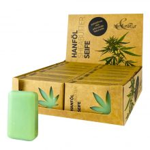 Hanf Natur Sheabutter Hemp Soaps (16pcs/display)