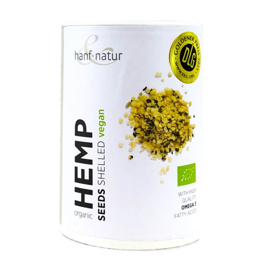 Hanf Natur Shelled Bio Hemp Seeds with Omega 3 (150g)