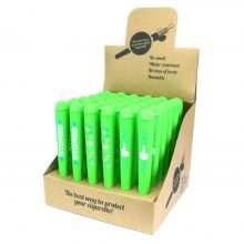 Joint Holders Green Active Leaves Stoned (36pcs/display)