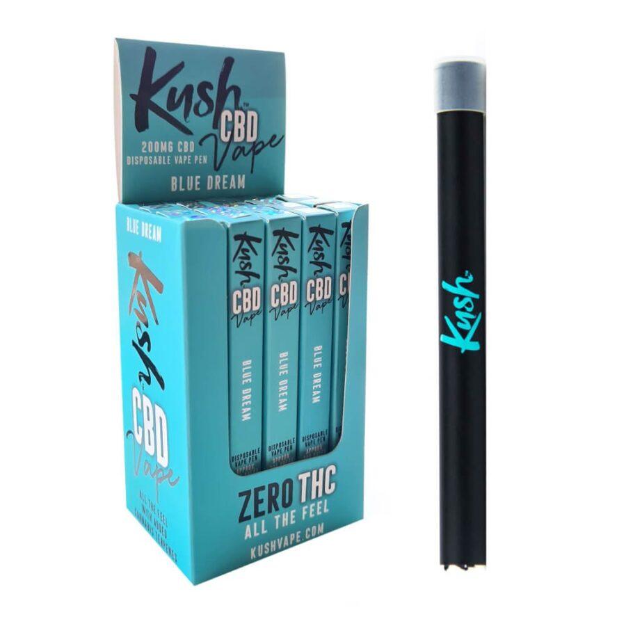 Kush CBD Vape Blue Dream 40% CBD Disposable Pen (20pcs/display)
