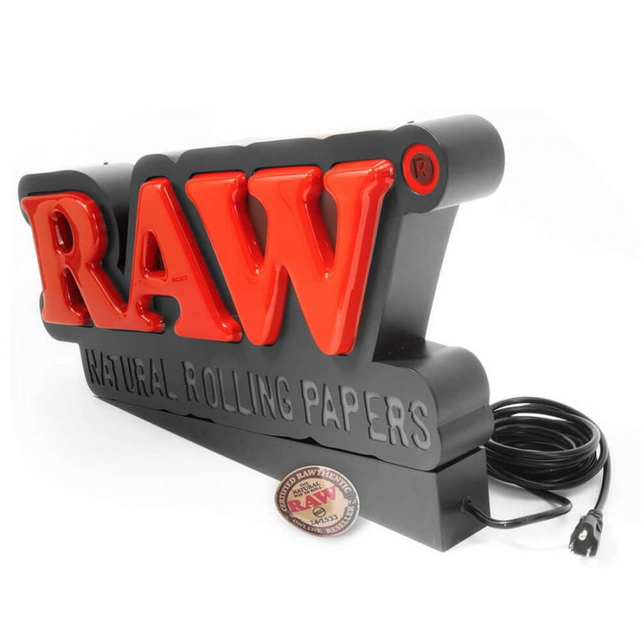 RAW Store Led Sign EU Plug