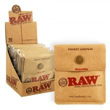 RAW Pocket Portable Ashtray (10pcs/display)
