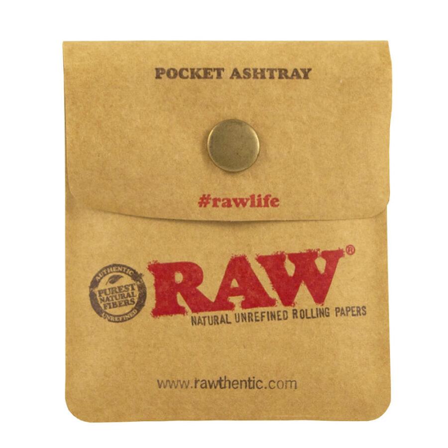 RAW Pocket Portable Ashtray (10pcs/display)