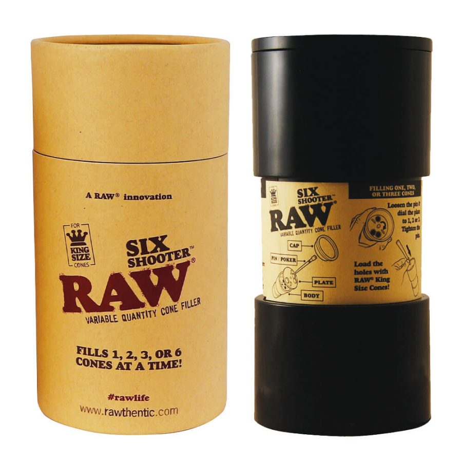 RAW Six Shooter Variable Cone Filler