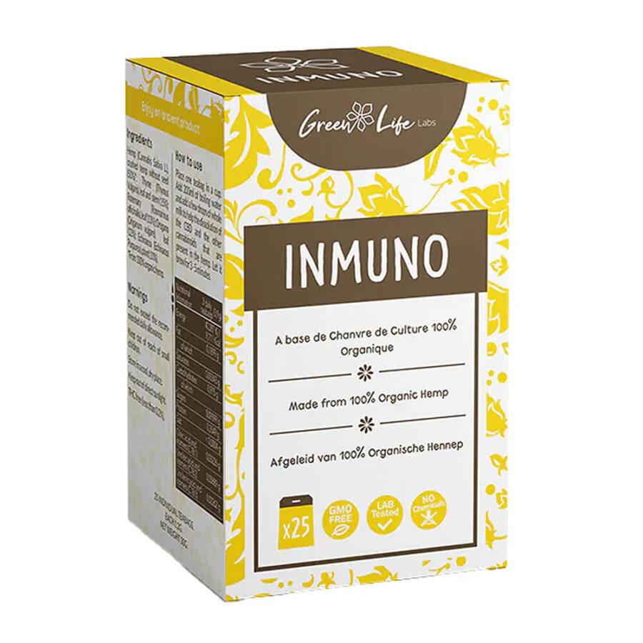 Green Life Organic Hemp Inmuno Tea (25bags/box)