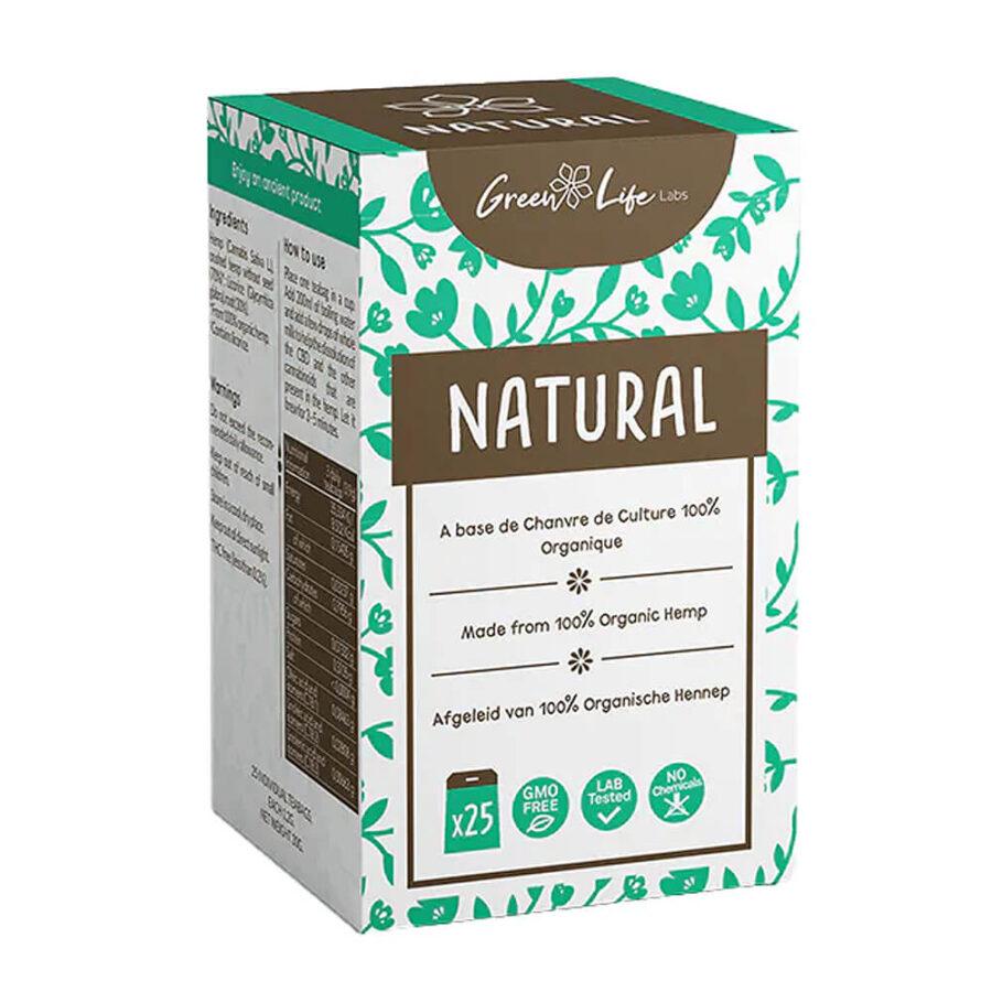 Green Life Organic Hemp Natural Tea (25bags/box)