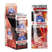 Hemparillo Hemp Wraps Cali Fire x4 Blunts (15packs/display)
