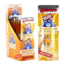 Hemparillo Hemp Wraps Mango Haze x4 Blunts (15packs/display)