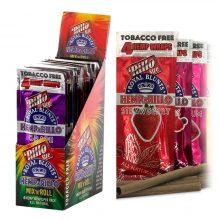 Hemparillo Hemp Wraps Blunts Mix N Roll x4 Blunts (15packs/display)