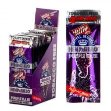 Hemparillo Hemp Wraps Purple Haze x4 Blunts (15packs/display)