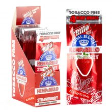 Hemparillo Hemp Wraps Strawberry x4 Blunts (15packs/display)