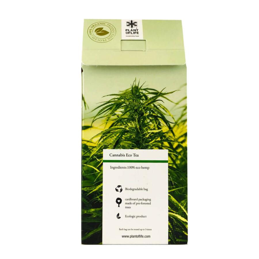 Plant of Life 2.5%-3% CBD + CBG Infusion Eco Tea