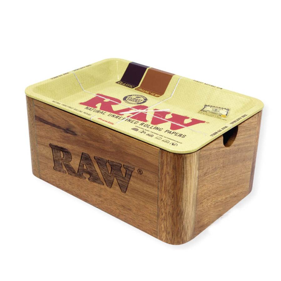 RAW Cache Box Mini Tray + Wooden Box
