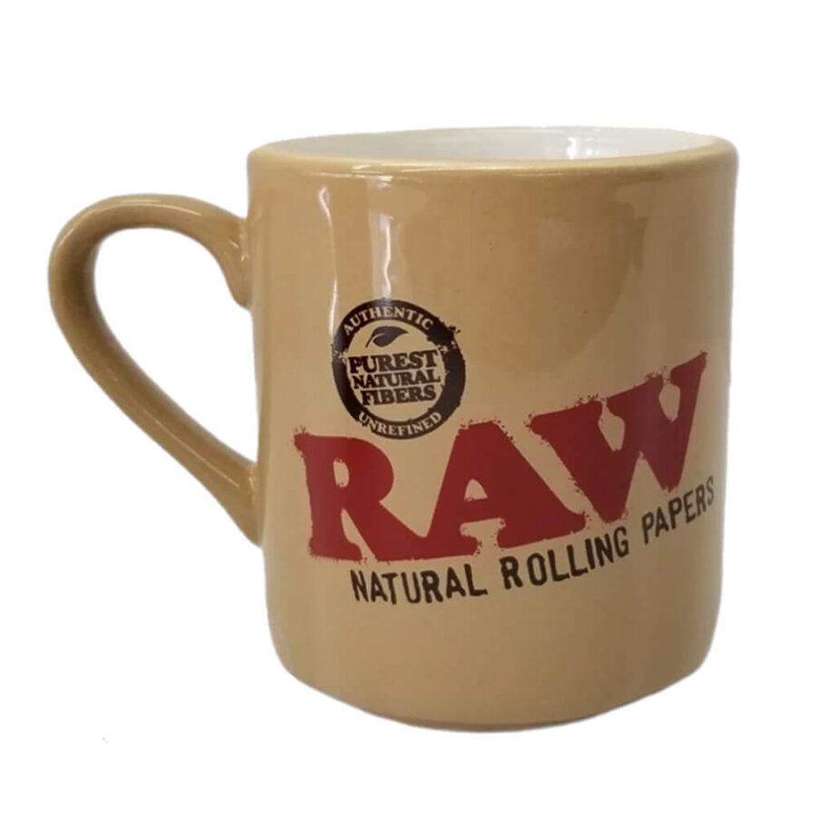 RAW Ceramic Coffee Mug