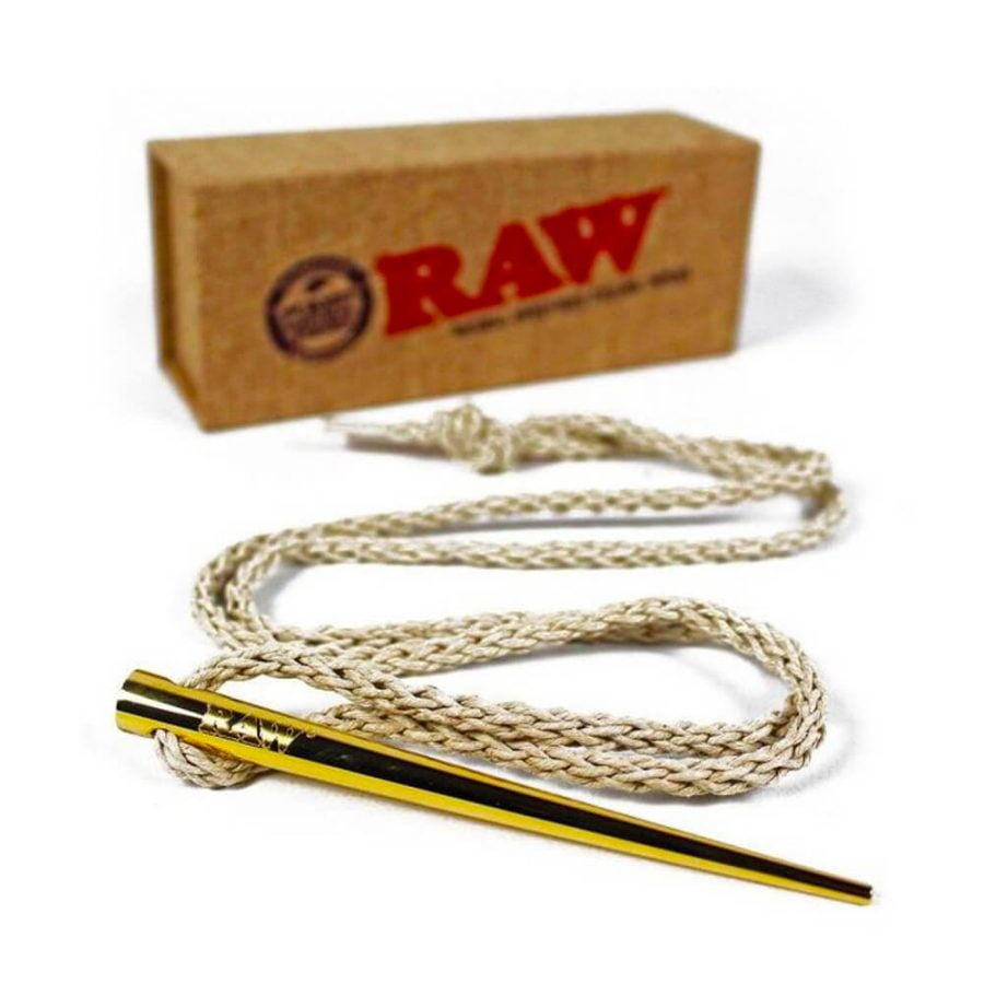 RAW Gold Poker Necklace