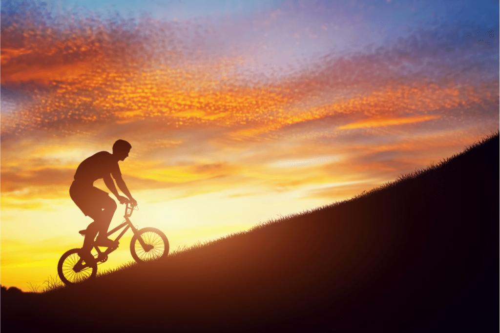 Uphill cycle challenge