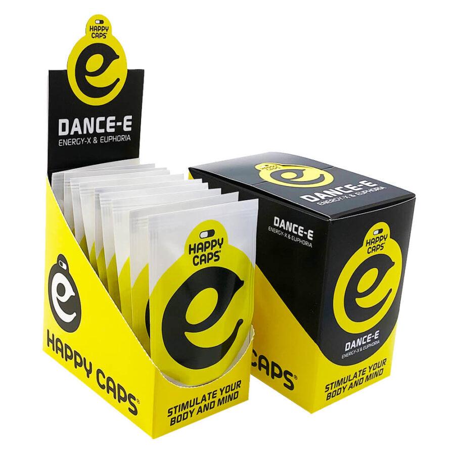 Happy Caps Dance-E Energy & Euphoria Capsules (10packs/display)