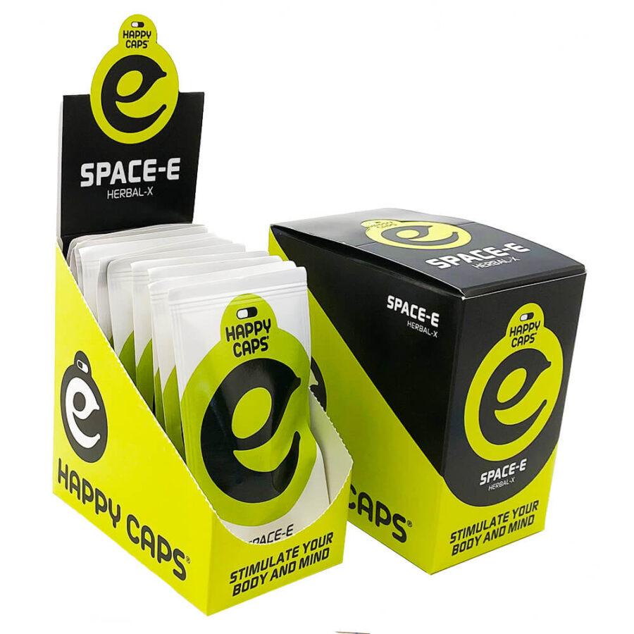 Happy Caps Space-E Trance & Energy Capsules (10packs/display)