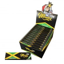 Monkey King KS  Rolling Papers + Tips Jamaica Edition (24pcs/display)
