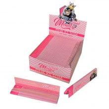 Monkey King Pink KS Slim Rolling Papers (50pcs/display)
