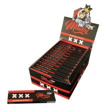 Monkey King KS Rolling Papers + Tips Amsterdam XXX Edition (24pcs/display)