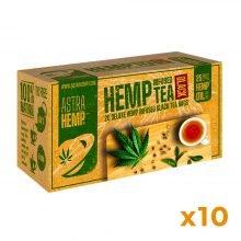 Astra Hemp Infused Hemp Black Tea 25mg Hemp Oil (10packs/lot)