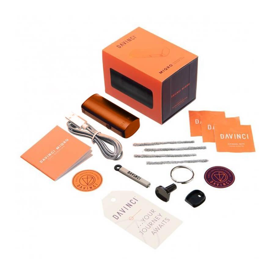 DaVinci Miqro Vaporizer Orange