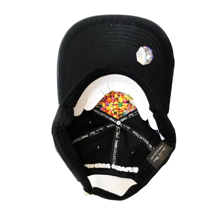 Lauren Rose - Gelato Black + Built-In Stash 420 Hat