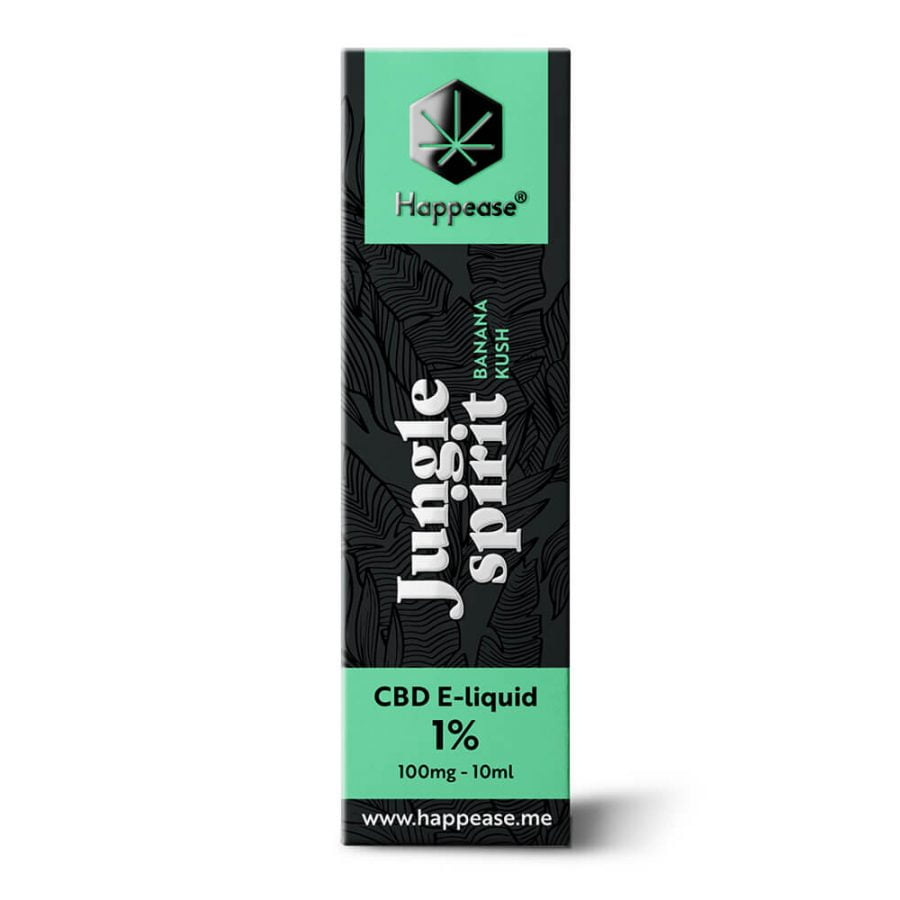 Happease CBD E-Liquid Jungle Spirit 1% - 100mg (10ml)